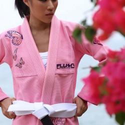 Fluory BJJ GI Butterfly Pink