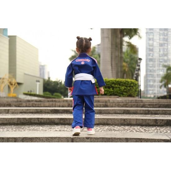 Fluory BJJ Gi Kids Courage Blue