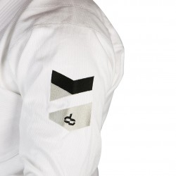 Kids Hyperlyte BJJ Gi - White w/ Black