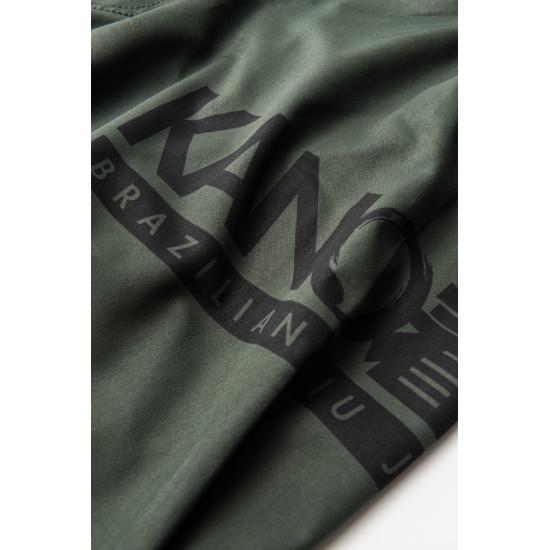 Kano Fight Shorts Battle Green