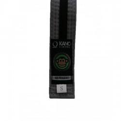 Kano Kids Gi Belt Grey/Black