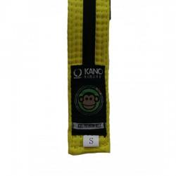 Kano Kids Gi Belt Yellow/Black