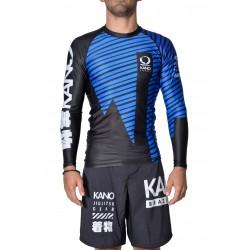 Rashguard Kano Blue Belt IBJJF Approved